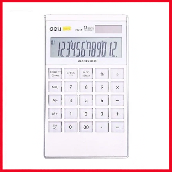 Deli Calculator EM01211 (12 Digits)