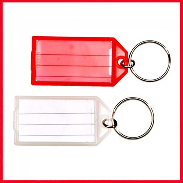 Writable Paper Card Keychain (Single Piece Price).