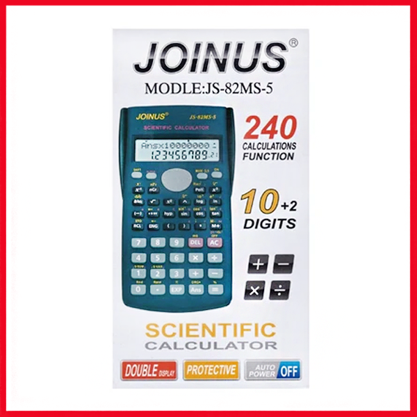 Joinus Scientific Calculator JS-82MS-5.