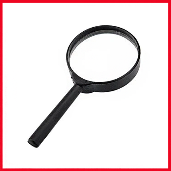 Magnifier Glass (6X75mm).
