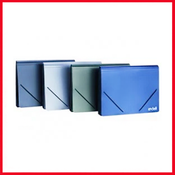 Deli Expanding File 13 Pocket, A4 (with Index & Elastic), (E5551),
