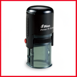 "Shiny R-524 Self-Inking Stamp, 1"" Dia"