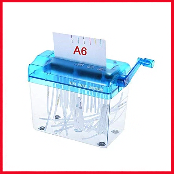 A6 Manual Hand Paper Shredder Document File Handmade Straight Cutting Machine