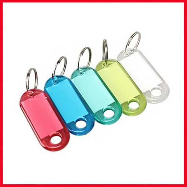 Keychain For Tag Label Pack Of 50