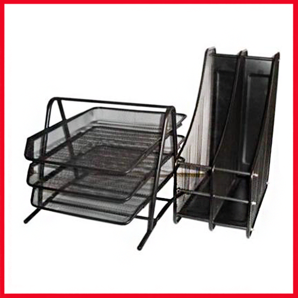 3 Step Letter Tray & Magazine Rack