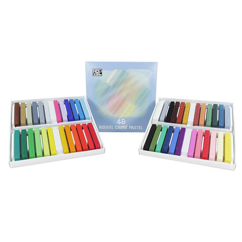 Sakura NOUVEL CARRE PASTELS Color Set (48C)