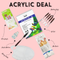 Acrylic Painting Deals Starter Pack For Artist