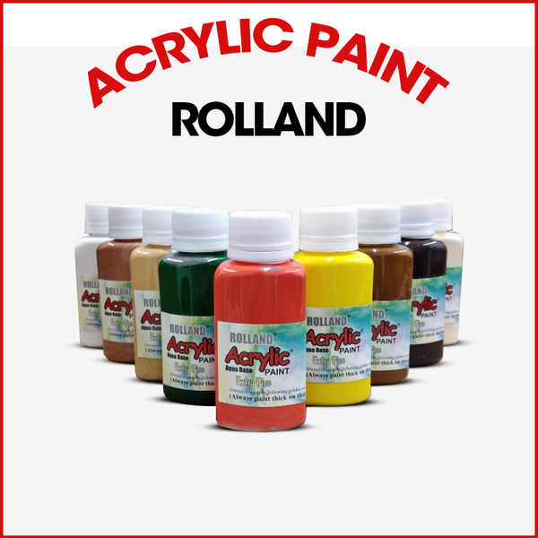 Buy Best Rolland Acrylic Paints 70ml Bottle Online in Pakistan