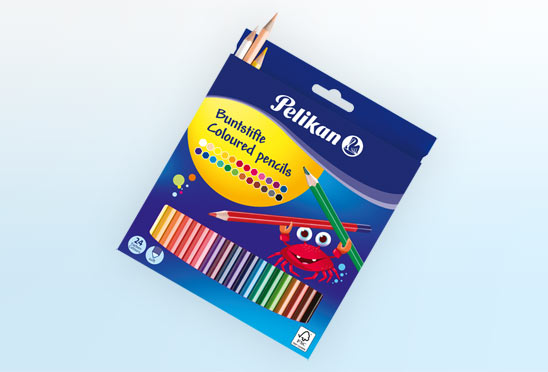 Pelikan Color Pencil 24 Pcs Box
