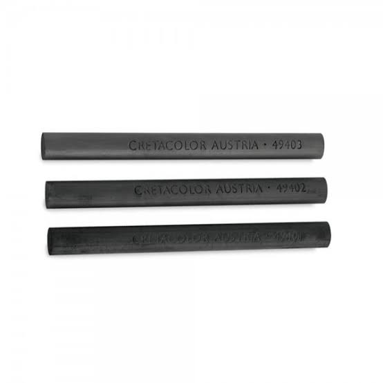 Cretacolor Soft Compressed Charcoal Sticks