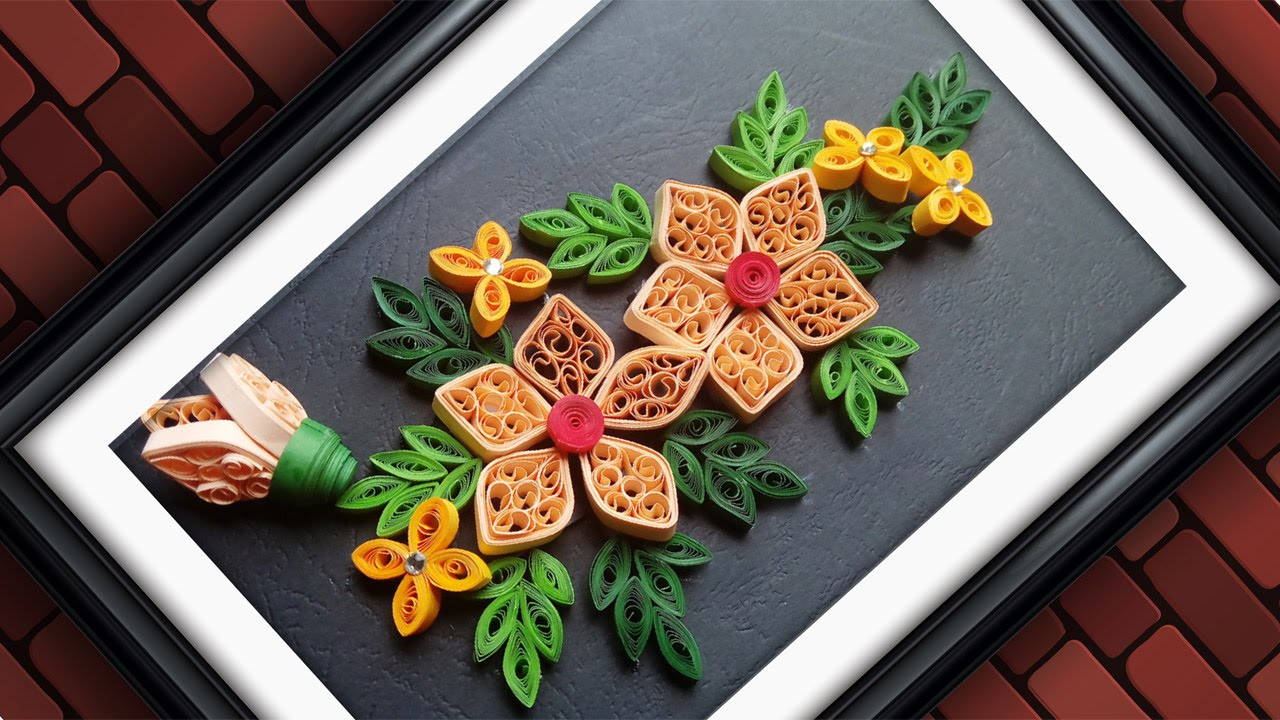 Quilling Paper For Make A Design Anything