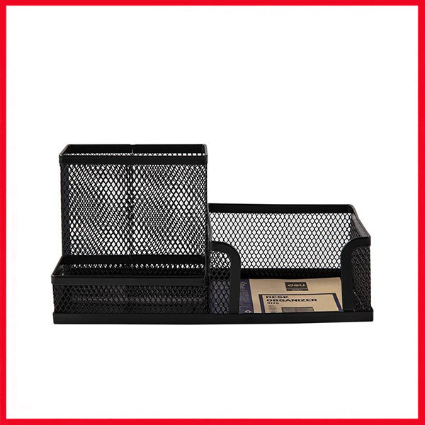 Deli E9175 Desk Organizer [3 Compartment]