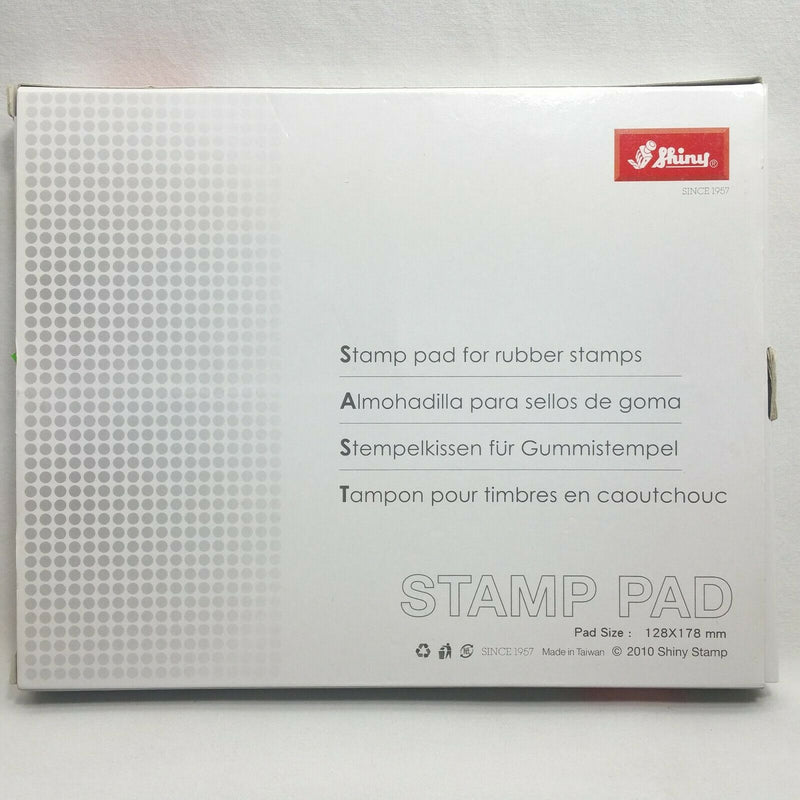 Shiny Stamp Pad Large S-4 Dry
