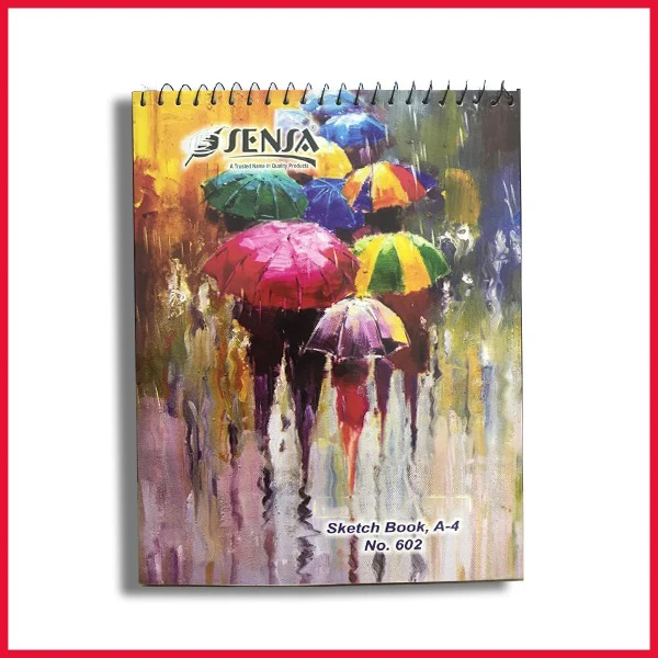 Sensa Hardcover Drawing & Sketchbook A4
