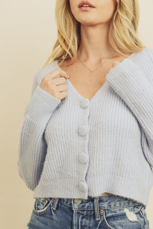 Chunky Cropped Cardigan