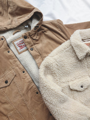 Fleece Trucker Sherpa Jacket