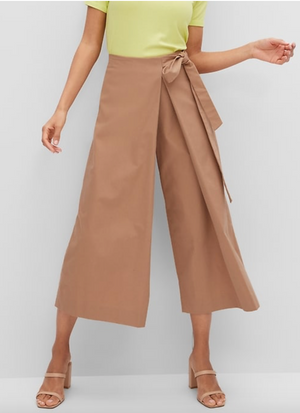 Organic Cotton Wide-Leg Pant