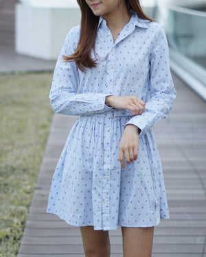 Girls Anchor Shirtdress