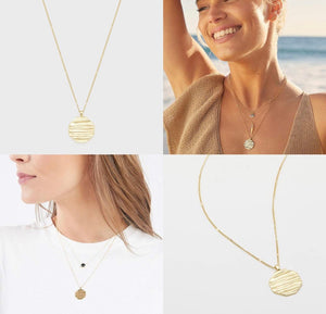 Sunset Coin Necklace
