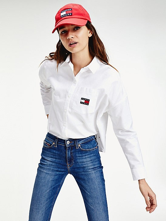 Organic Cotton Badge Shirt