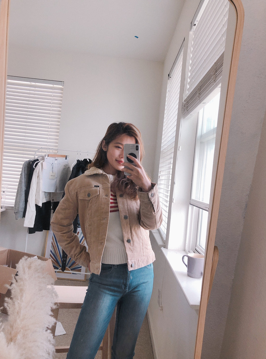 Girls Corduroy Trucker Jacket