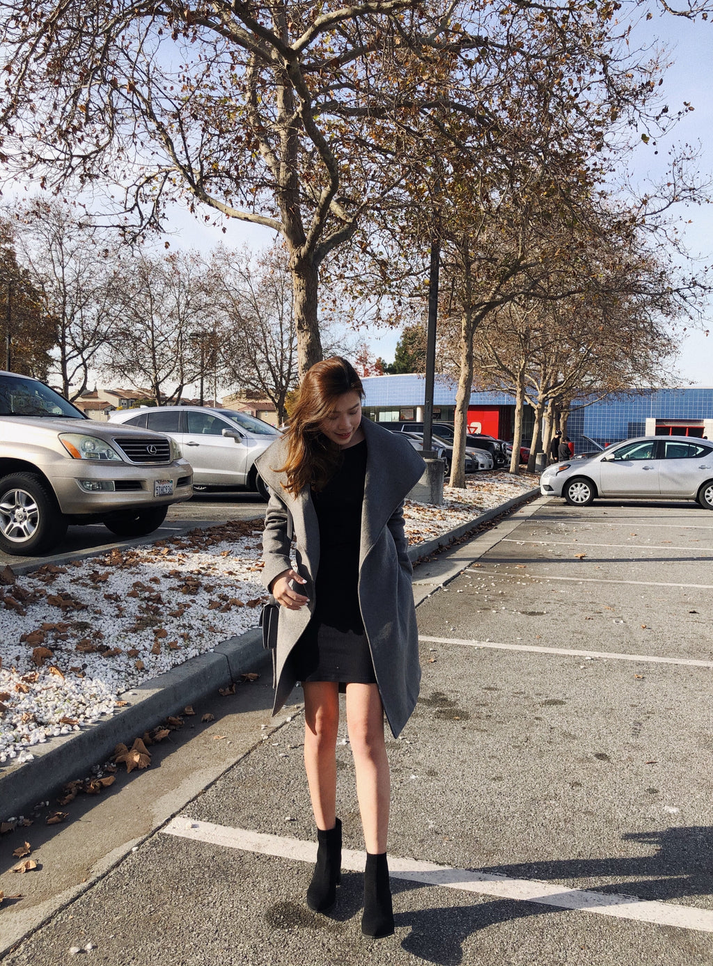 Wool Wrap Coat