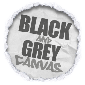 all shades and tones of black and grey canvas wall art