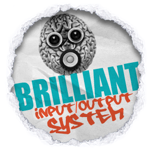 Click Brilliant Input Output System logo to view his clothing
