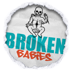 Click Broken Babies logo to view their clothing