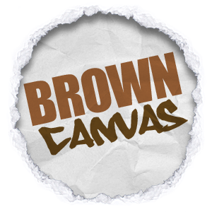 all shades and tones of brown canvas wall art