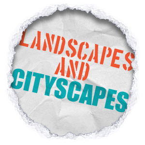 landscapes and cityscapes on canvas