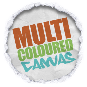 all shades and tones of multicoloured canvas wall art