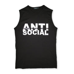 Anti-Social Sleeveless Tee