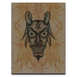 Blood Stained Faces Of Death : Devil Wall Art Thumbnail
