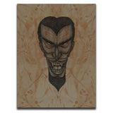 Blood Stained Faces Of Death : Vampire Wall Art Thumbnail