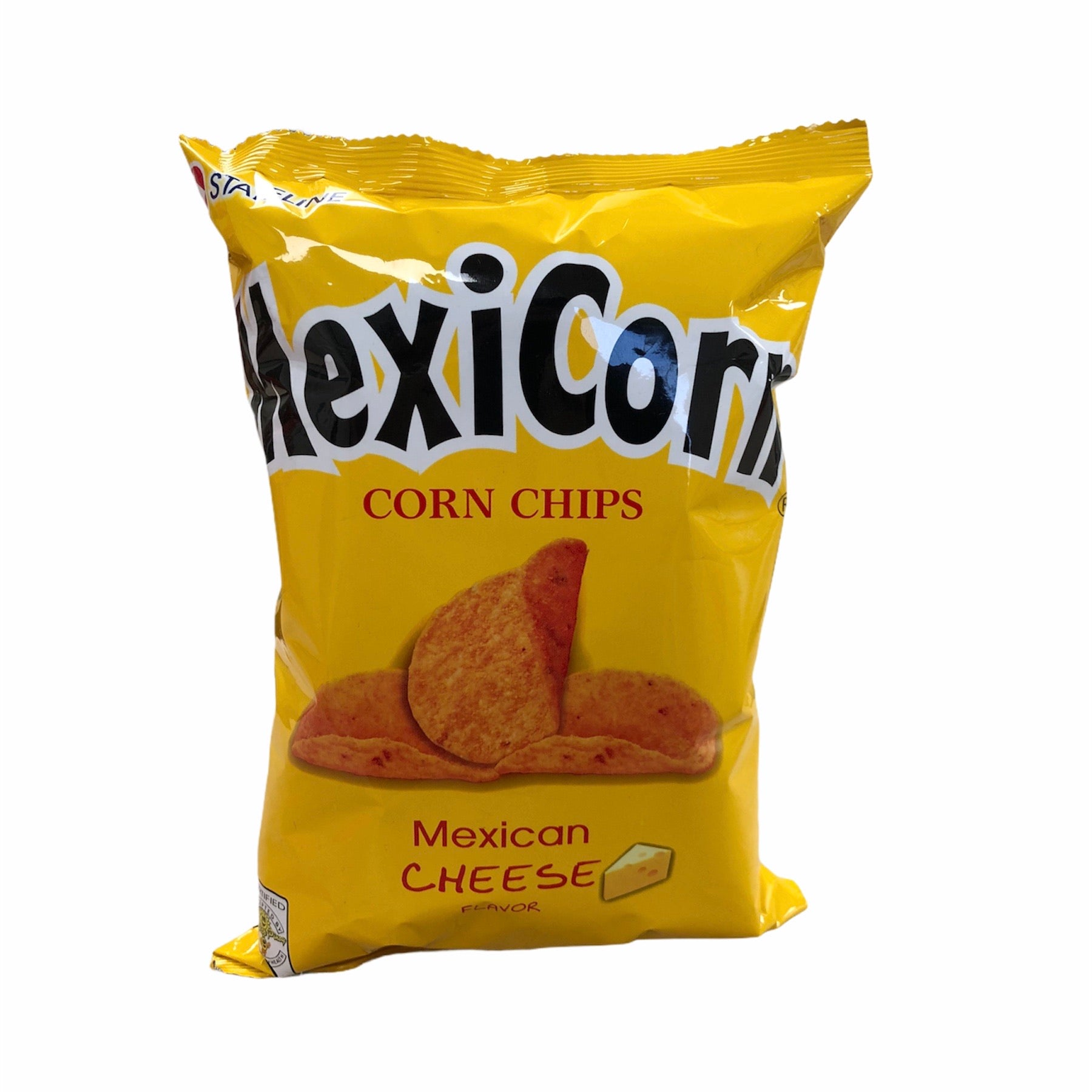 Stateline - MexiCorn Corn Chips Mexican Cheese Flavor 100 grams