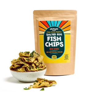 chYum Foods - Salted Egg Fish Skin Chips (4 oz)
