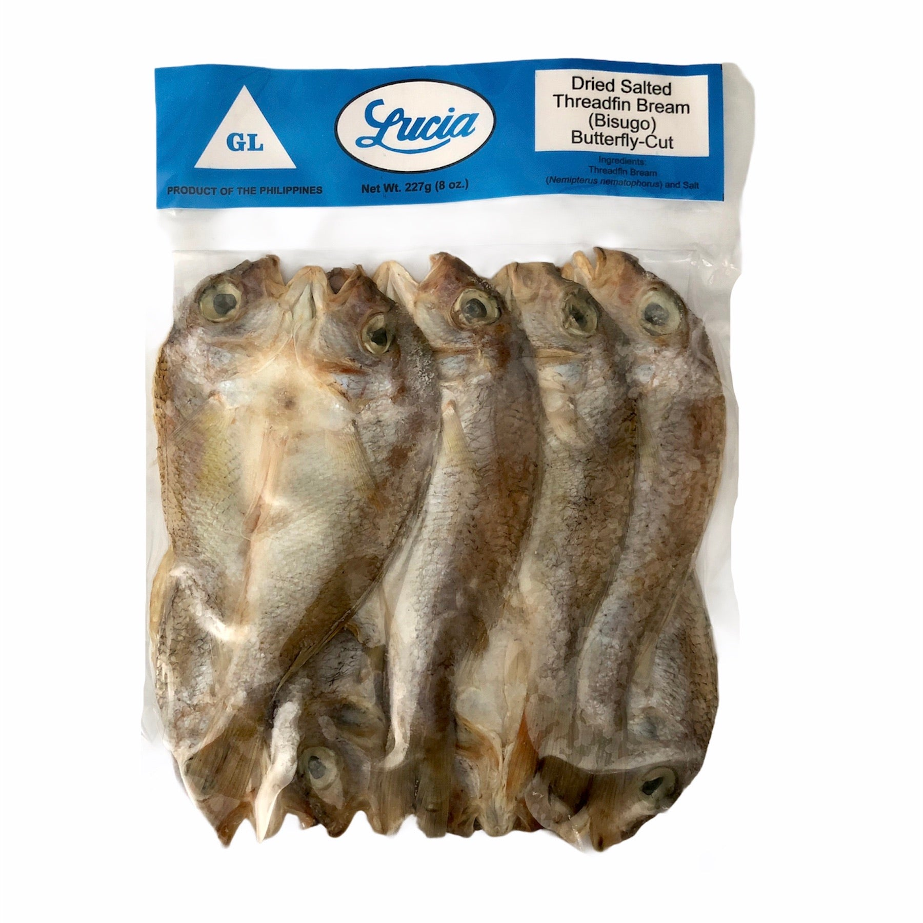 Lucia - Bisugo Dried Fish 8 oz