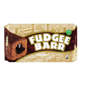 Fudgee Barr - Chocolate Cream-Filled Chocolate Cake Bar 40 G X 10 Pack