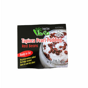Vara - Tapioca Pearl Pudding - Red Beans 4 OZ