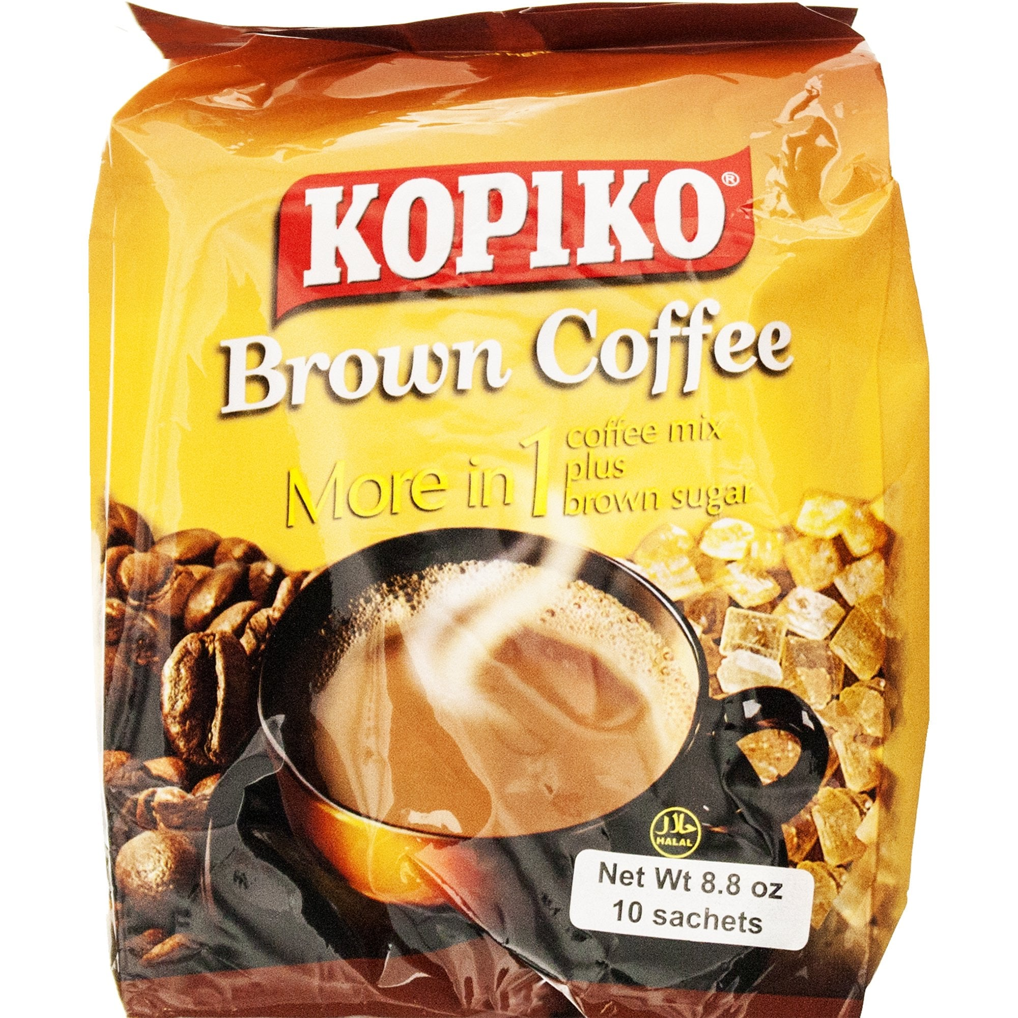 Kopiko - Brown Coffee 3-in-1 Coffee Mix 10 sachets