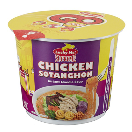 Lucky Me - Supreme Chicken Sotanghon Instant Noodle Soup 40 G