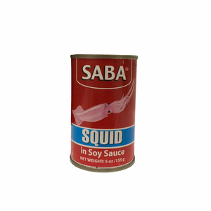 SABA - Squid in Soy Sauce 5 OZ