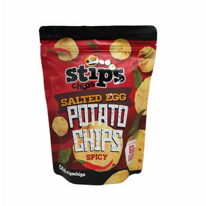 Stips Chips - Salted Egg Potato Chips SPICY 2.12 OZ