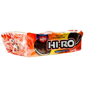 Fibisco - Hi-Ro Chocolate Flavored Sandwich Cookies 10 PACK