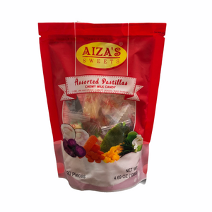 Aiza's Sweets - Assorted Pastillas Chewy Milk Candy 4.69 OZ