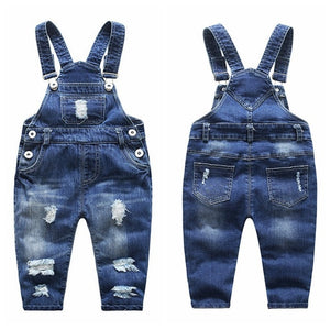 1-5T Jean Rompers