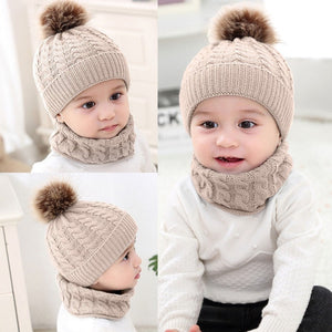 2Pcs Winter Beanie