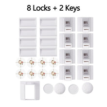 Load image into Gallery viewer, Magnetic Cabinet Drawer Door Lock