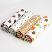 Load image into Gallery viewer, 100% Cotton Swaddles